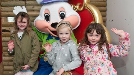 Easter fun and crafts at Puxton Park. Picture: MARK ATHERTON