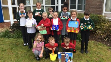 Yatton Federated Schools held an Easter competition for pupils. Picture: Yatton Federated Schools