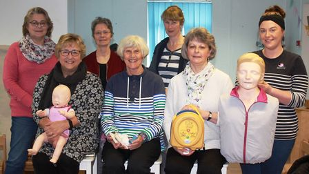 Volunteers from Home-Start North Somerset received free training from The Nursery.