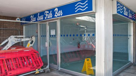 The Blue Seas Fish Bar, set to be turned into a micro pub.