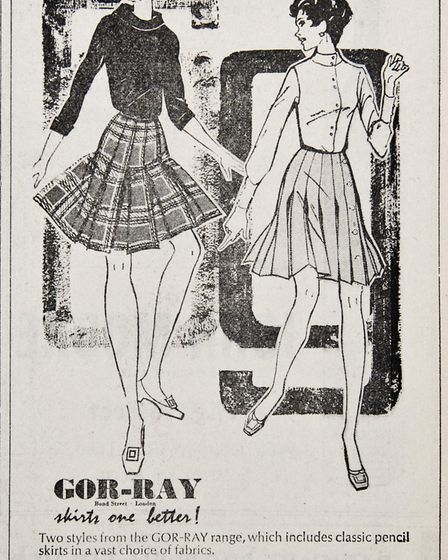 Ads 21st March 1969 Edition. Picture: WESTON MERCURY