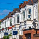A row of typical British terraced houses.Picture: Getty Images