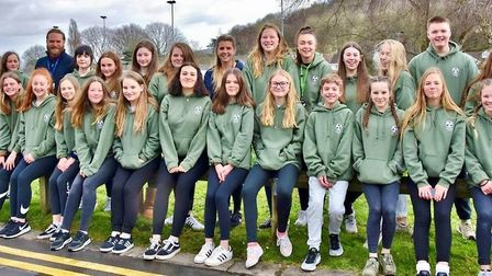 Clevedon School's dance students at Move It in London. Picture: Good News Post