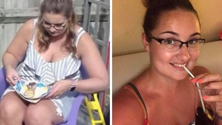Before and after: Iona is one of Slimming World's many success stories. Pictures: Slimming World