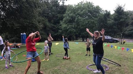 Getting active in the summer with Slimming World. Picture: Slimming World