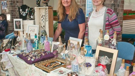 Beautiful Bottles and Fortunesfinds at Weston Museum's Mother's Day craft fair. Picture: MARK ATH