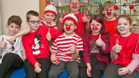 Pupils from Mendip Green primary enjoyed a Where's Wally competition. Picture: MARK ATHERTON