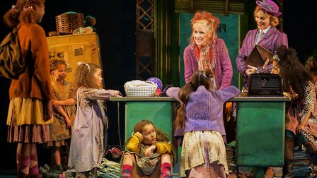 Annie is at the Bristol Hippodrome now.