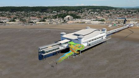 Westons Grand Pier wants to create a mud spa at the seaside attraction.Picture: Westons Grand pier