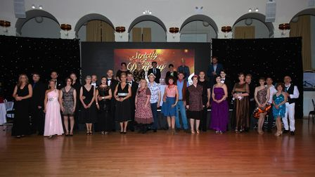 The contestants of Strictly Fun Dancing.