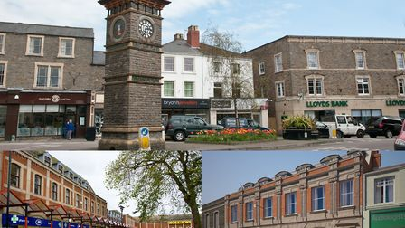 Some key areas Clevedon BID will be focusing on. Pictures: Mark Atherton/3SIXTY Real Estates