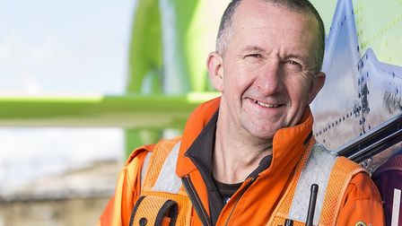 Pete Sadler retires from GWAAC. Picture: Adam Gasson