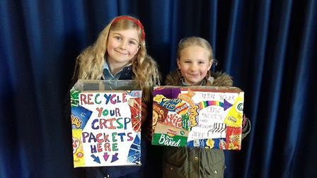 High Down Junior School has started a recycling scheme.