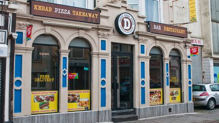 Deniz's Kebab Shop in St James Street has had it's liesence suspended. Picture: MARK ATHERTON