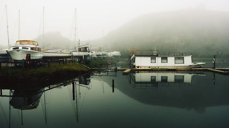 A harbour nestled in calm waters.Picture: Terry Kelly