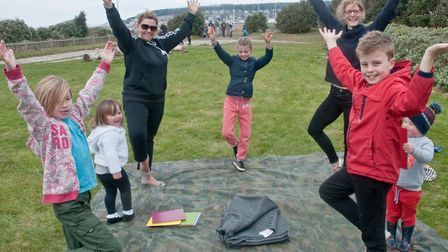 An open day hosted by Play Wild CIC on the southern most end of the Beach Lawns, including face pain