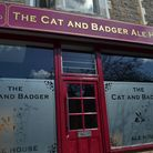 Cat and Badger frontage. Picture: Henry Woodsford