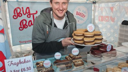 Ryan Bolton at his Big Bakes Bakery. Picture: MARK ATHERTON