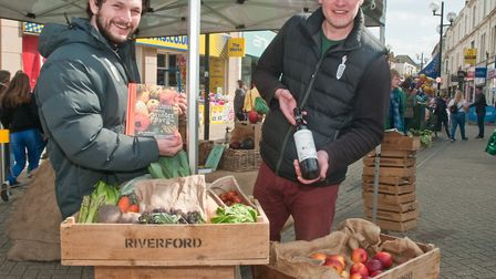 Riverford Organic at Eat: Weston. Picture: MARK ATHERTON