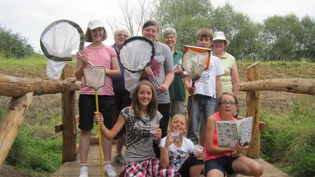 The Congresbury Youth Partnership summer holiday activities WITH YACWAG.Picture: YACWAG