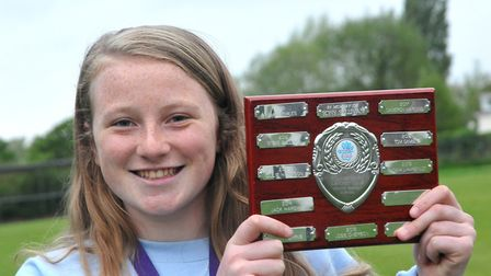 Saskia Lawrence (Congresbury cricket club)Congresbury Youth Partnership awards night.26,04,19