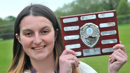 Alyx Carter (youth group) Congresbury Youth Partnership awards night.26,04,19