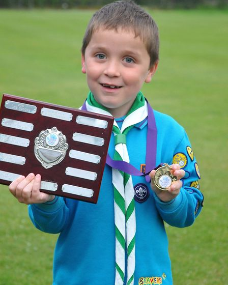 Finlay McTeer (beaver)Congresbury Youth Partnership awards night.26,04,19