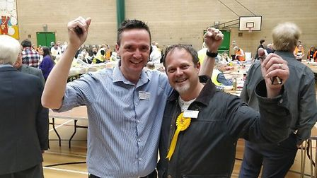 Liberal Democrats celebrate as Conservatives take heavy loses