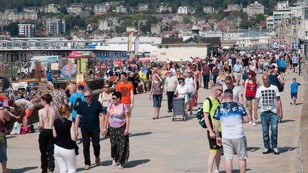Bank Holiday sunshine brought out the crowds.