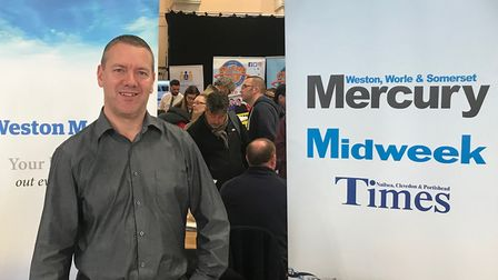 The Mercury was representated at the jobs fair last year.
