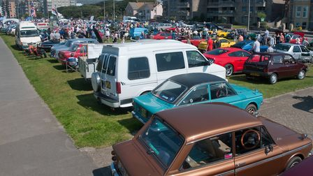 The 41st Pageant of Transport on Weston's Beach Lawns.