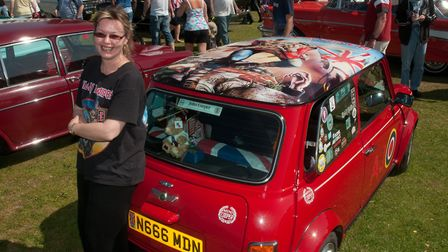Jean Goodall loves her Mini Cooper... and Iron Maiden.