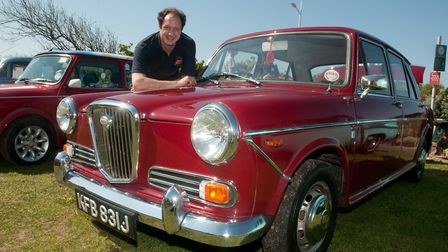 A Wolseley 1300 owned by Nick Varney.