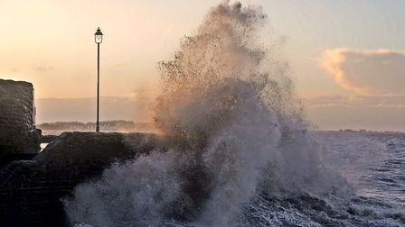 Big waves may strike Weston-super-Mare's coast this week. Picture: Terry Kelly (iwitness24)