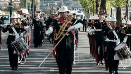 The Band of HM Royal Marines, Plymout will perform at the Weston Armed Forces Weekend.