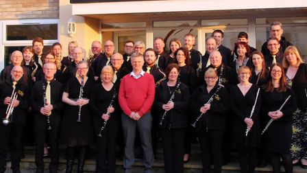 WorleWind Band raised hundreds of pounds for Vivienne's surgery. Picture: WorleWind Band