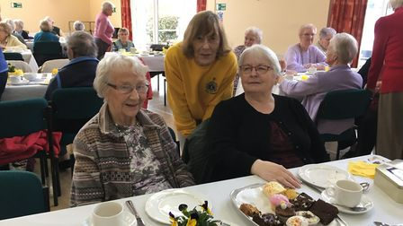 Pensioners had a lovely time at the Lions' senior party.