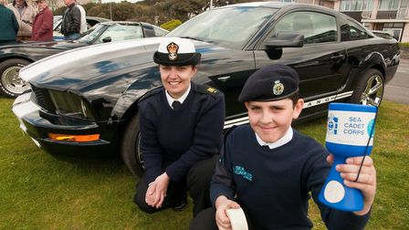 The sea cadets at last year's Pageant Of Transport.