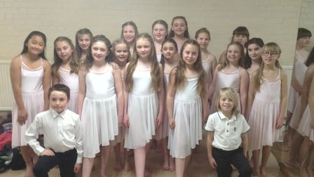 St Anne's Church Academy at the North Somerset Schools Dance Festival. Picture: Lin Hodges