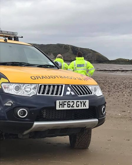 Weston Coastguard responded to a woman suffering from the heat. Picture: Weston Coastguard