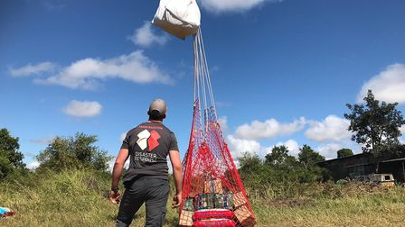 Team Rubicon UK has now touched down in Mozambique. Picture: Team Rubicon UK