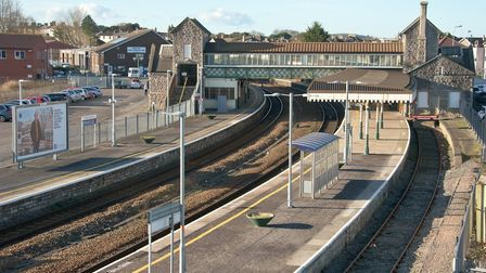 The funds will be used to improve disabled access to Weston Railway Station. Picture: Mark Atherton