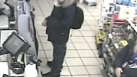 Jalees Ahamd on CCTV Picture: Avon and Somerset Constabulary
