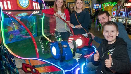Children with Cancer UK charity is holding its annual fun day at the Grand Pier. Oliver Carter, who