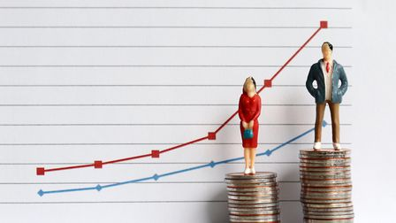 Gender pay gap. Picture: Getty Images