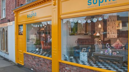 Sopha opened in Highbridge on Saturday. Picture: MARK ATHERTON