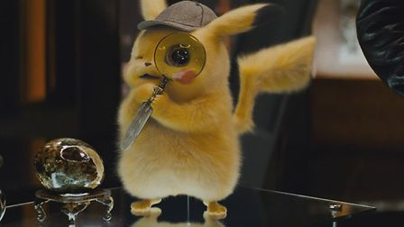 Detective Pikachu will be in cinemas on Friday.