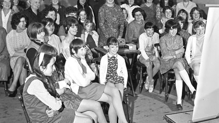 At a reunion held by the 1st Axbridge Guides Company, Miss A. Colridge-Smith entertained past and pr