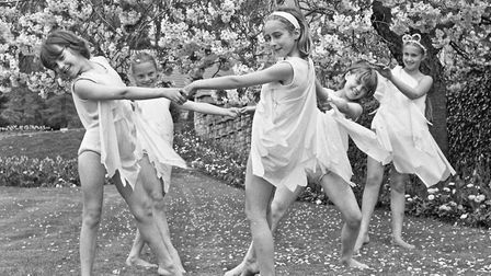 Spring in the air at Grove Park with dancers from the local Children Calling presentation adding a f