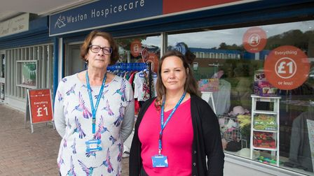 Efforts are now under way to find new roles for the team at Weston Hospicecare's shop in Aller Parad